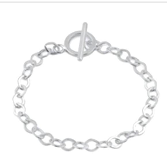Vvegasbaby silver & gold Jewelry - Silver Tiffany style bracelet